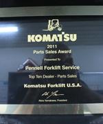 2011 Top Ten Dealers Award